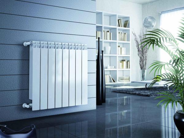 Алюминиевый радиатор имеет рабочее давление выше 12 атмосфер