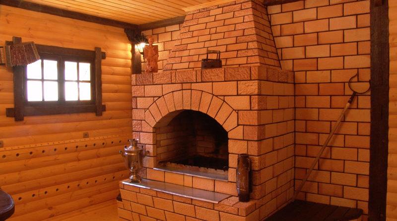 Как построить камин в доме своими руками