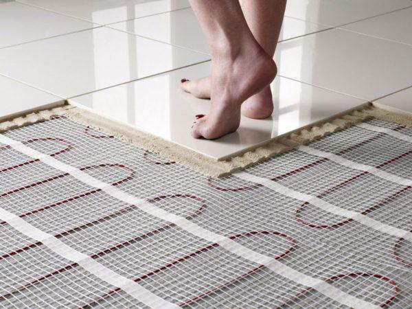 При правильных расчетах и монтаже в доме будут равномерные теплые полы
