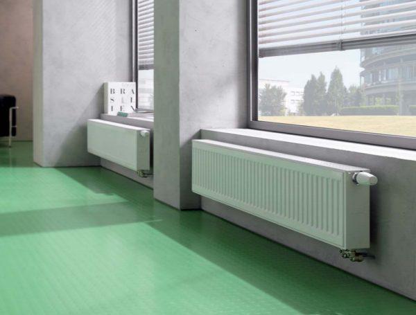 Стальные радиаторы отопления выдерживают давление до 16 атм