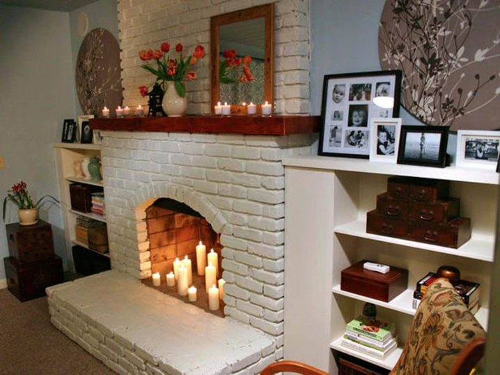 Декоративный камин своими руками пошаговая инструкция с фото 98