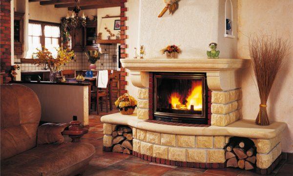 При постройке настоящего камина в доме следует хорошо подготовиться