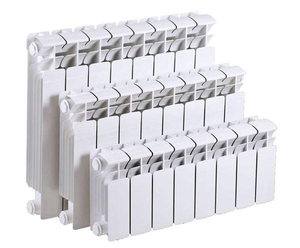 Варианты размеров биметаллического радиатора для дома