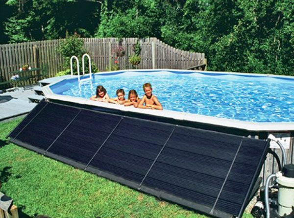 Солнечный коллектор воды для бассейна своими руками 98