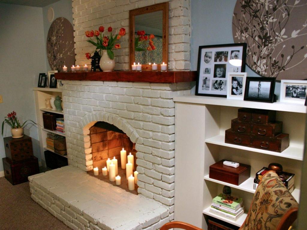 Как построить декоративный камин в доме своими руками пошаговая инструкция