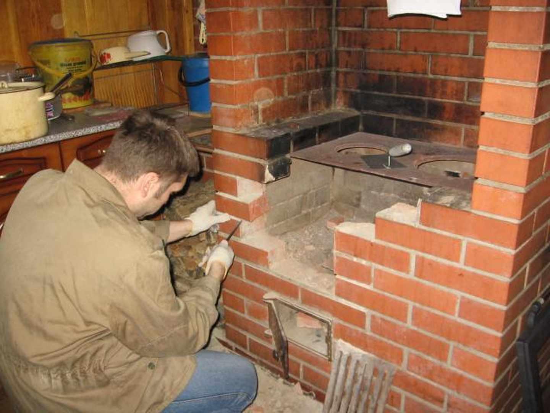 Маленькая печь для дачи: выбор между металлом и кирпичом и схема 77