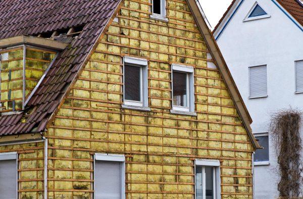 Утепление наружной стороны стен загородного дома с применением минваты