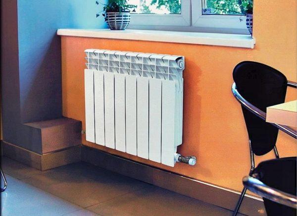 Секционный радиатор