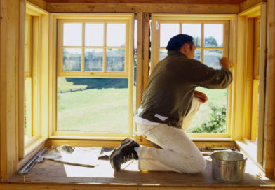 Как утеплить окна на даче