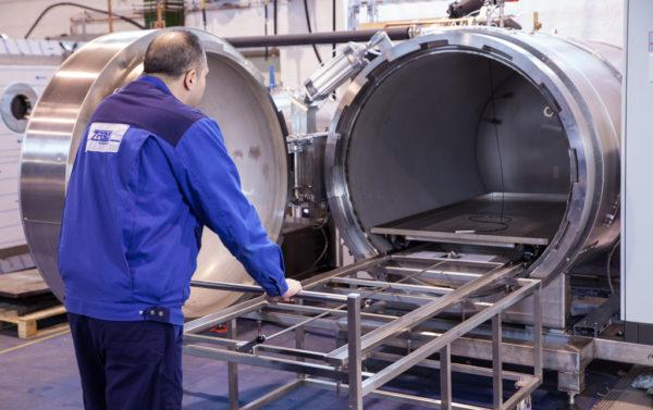 Этап ввода в эксплуатацию оборудования компании ZIRBUS technology GmbH