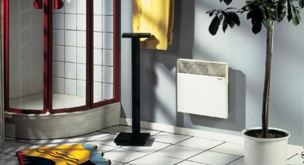Конвекторы можно применять в ванной комнате