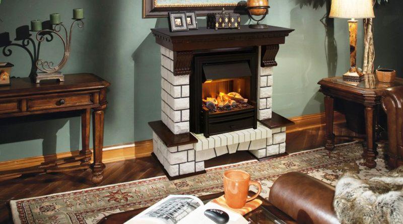 Украсьте интерьер вашего дома камином