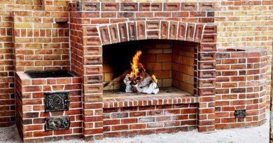 Кладка камина из кирпича и как возвести каминные перекрытия — перемычки