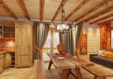 Современная баня: мебельное обустройство комнаты отдыха