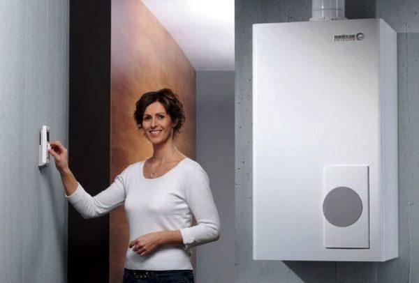 регулировка температуры в помещение при помощи терморегулятора для котла отопления