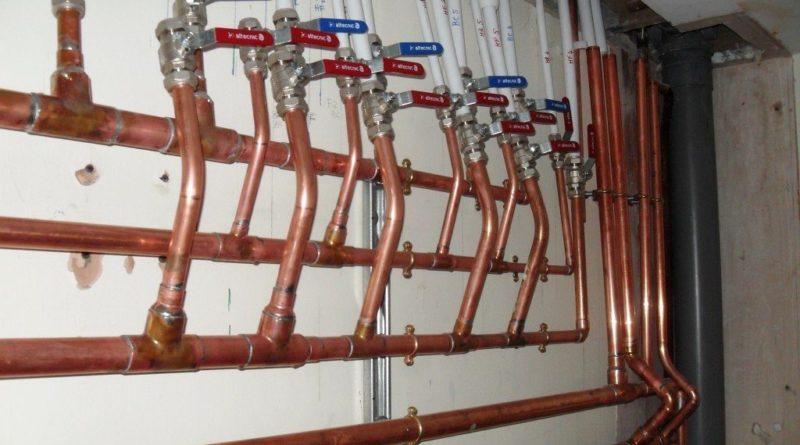 Трубы для водопроводной и отопительной системы