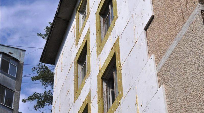 Утепления фасада здания пенополистиролом или минеральной ватой 4