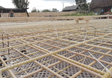 Стекловолоконное армирование в строительстве